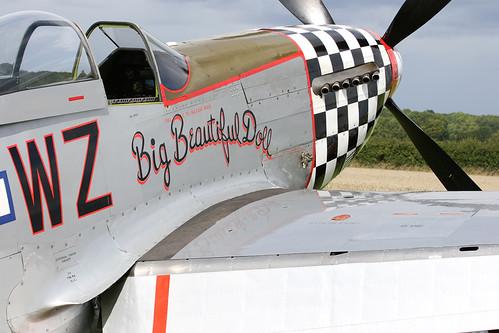 P-51D Mustang - Big Beautiful Doll Little Gransden 2010 | by stu norris