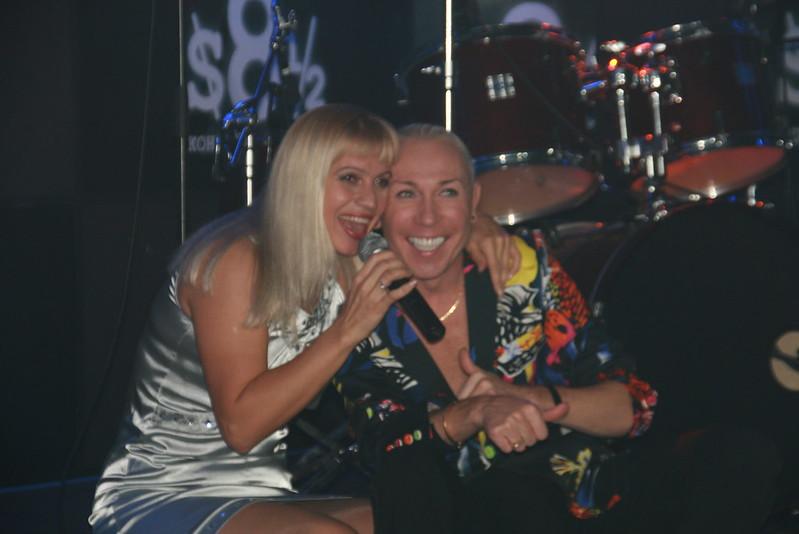 Александр Песков и Марина