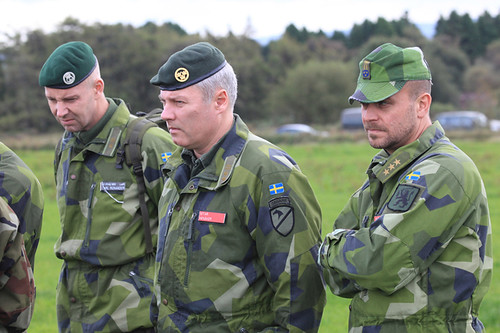 Nordic Battle Group ISTAR Training - Visiting Swedish Military | by Óglaigh na hÉireann