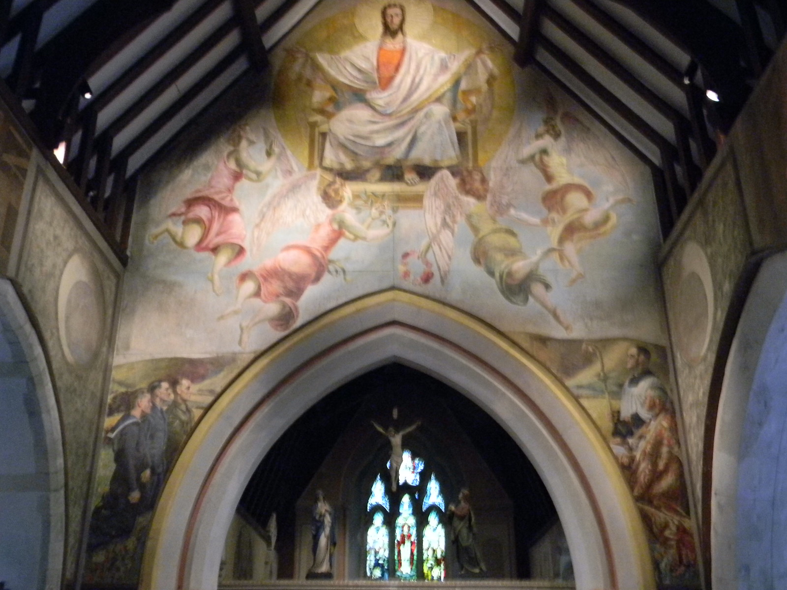 "Berwick Church mural www.berwickchurch.org.uk/page7.html"" rel=""nofollow www.berwickchurch.org.uk/page7.html Lewes to Berwick"