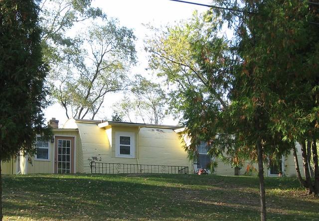 Quonset House near Fox Lake, Illinois