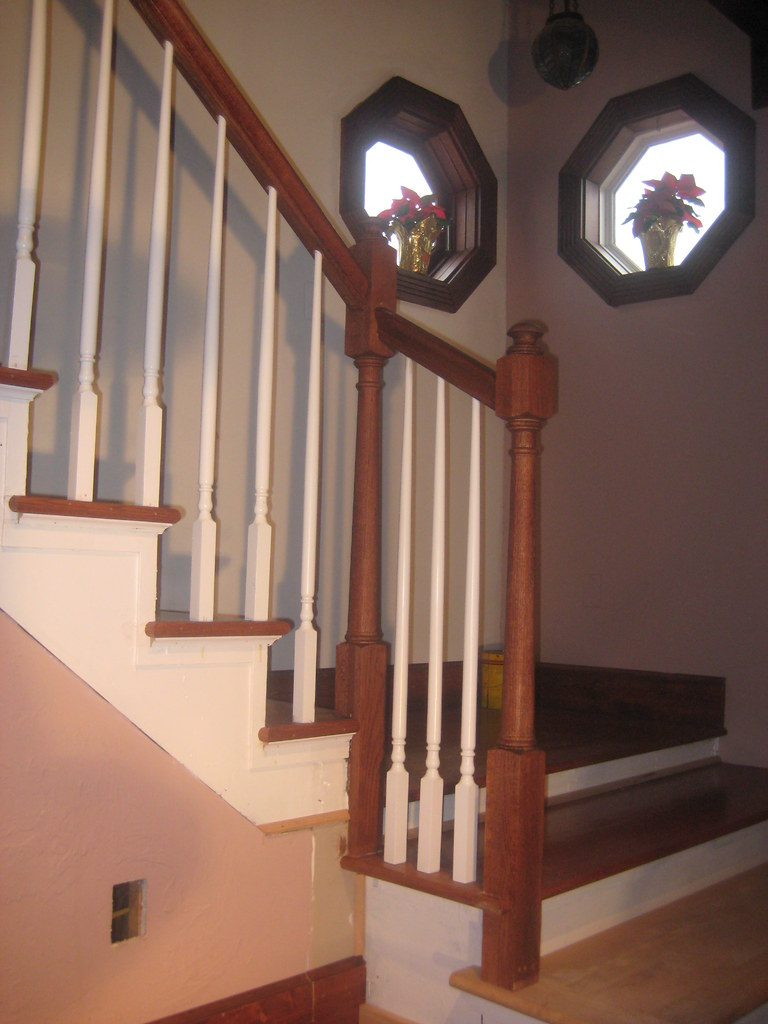 Stair Contractor Build Stair Rail (2) | Www.thefinishingcomp ...