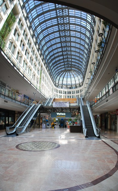Karum Shopping Mall Interior Panorama