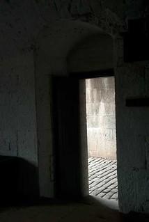 Entrance to the guardroom, Halifax Citadel   by Elizabeth Buie