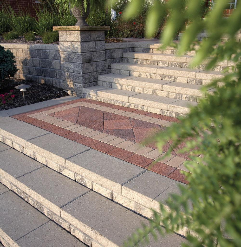 Beautiful Paver Design for patio