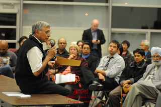 Town Hall on Democracy 2010 Ujjal speaking with participants | by Ujjal Dosanjh
