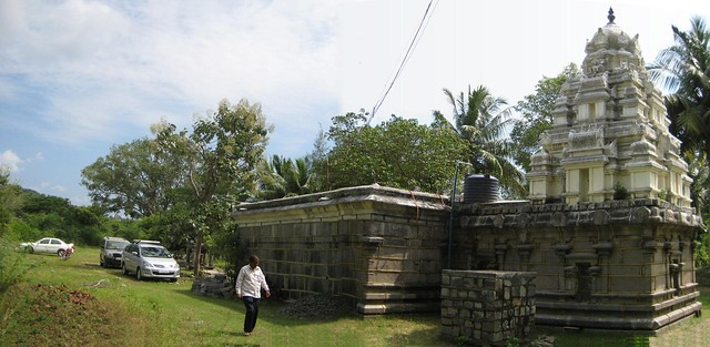 Backside of the temple 1