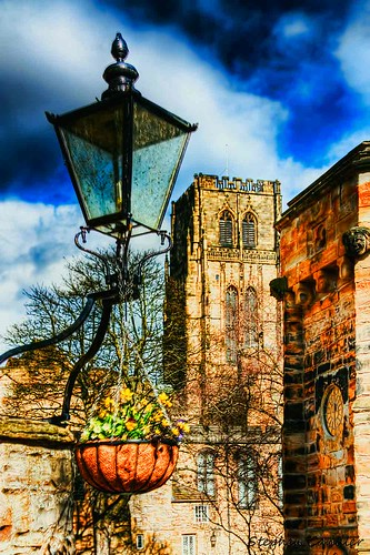 uk england lamp canon geotagged eos europe durham cathedral durhamcity hdr highdynamicrange lightshade countydurham 2011 tonemapped tonemapping hdrphotography 450d canoneos450d hdrphotographer stephencandler stephencandlerphotography spcandlerzenfoliocom
