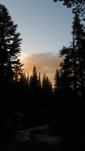 california sunset river pacificcresttrail pct sierranevada carsonriver carsoniceberg whitecanyon sectionj