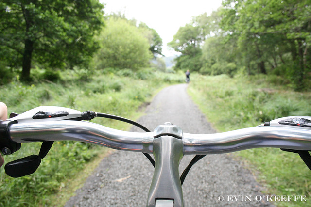 Riding My Bike - A Handlebar View