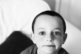 Black and White Child | by Pewari