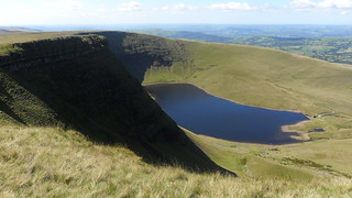 Black Mountain, Llyn y Fan Fach & Picws Du, Aug 2010