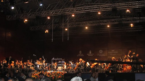 El concierto con la Orquesta Sinfónica de Tenerife