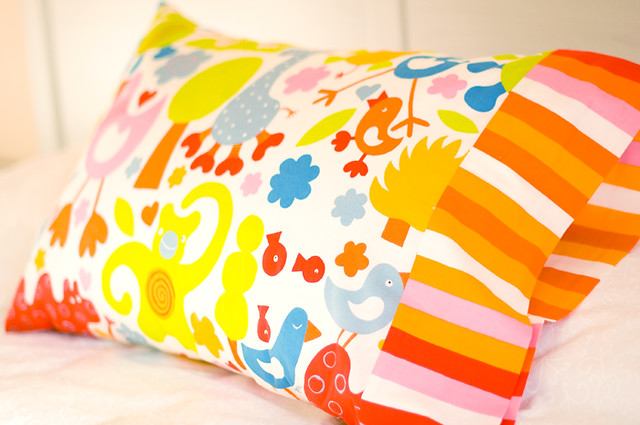 Lilly's pillowcase
