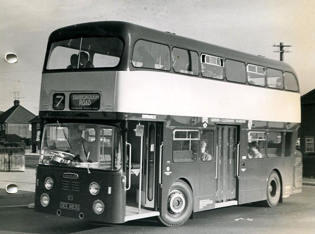 83, OEE 883G, Daimler Fleetline, Roe Body