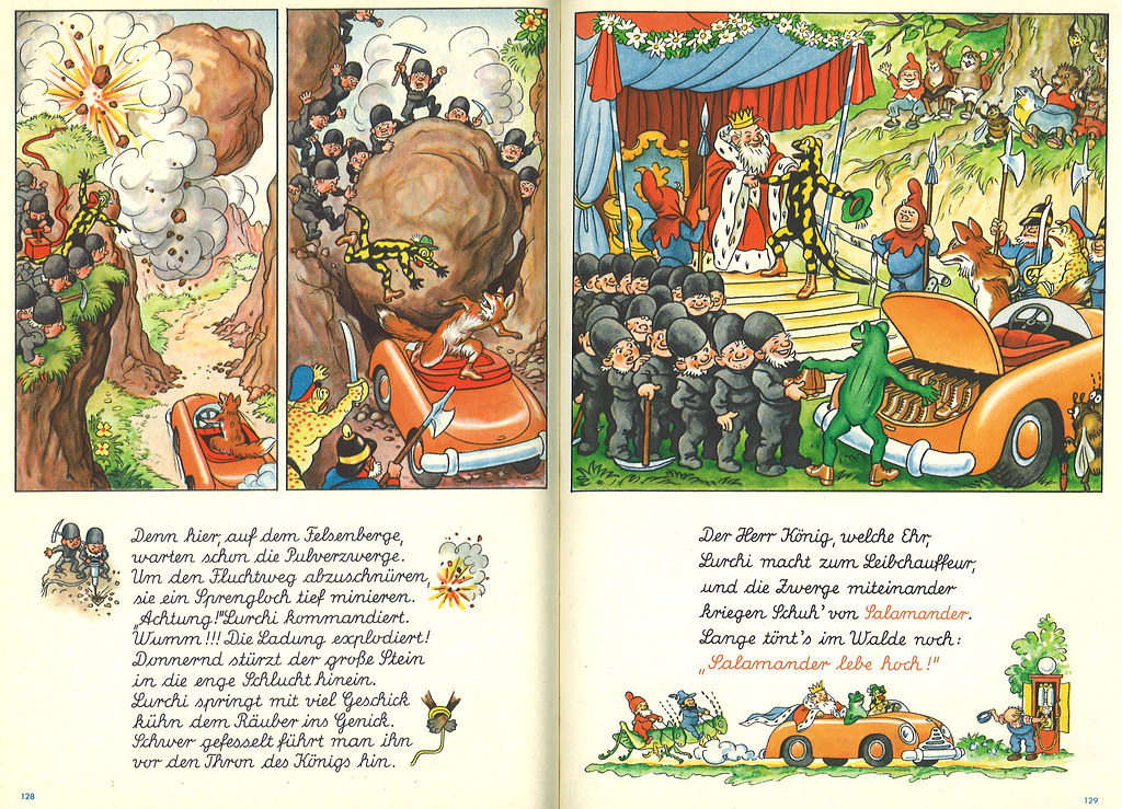 online store 364c9 bff19 Lurchis gesammelte Abenteuer Band 1 Seite 128 - 129 | Flickr