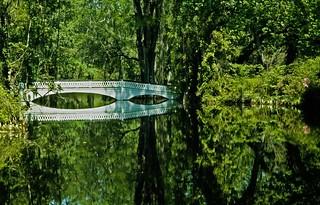 The Long White Bridge at Magnolia Gardens   by jimflix!