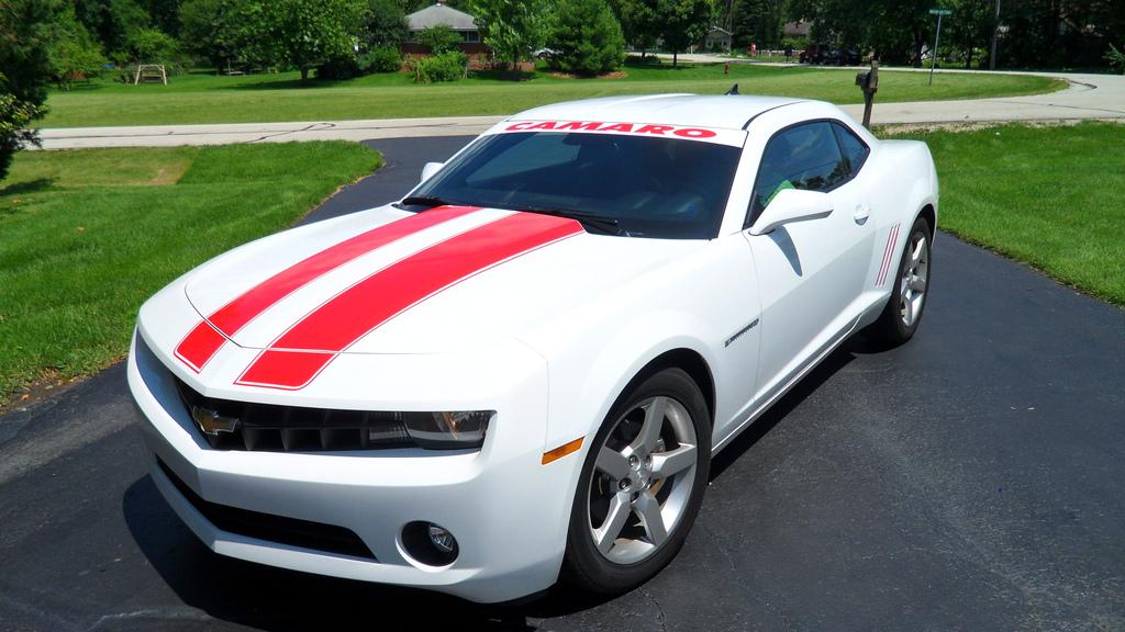 body-stripes-new-camaro-red-on-white | Heffner Designs | Flickr