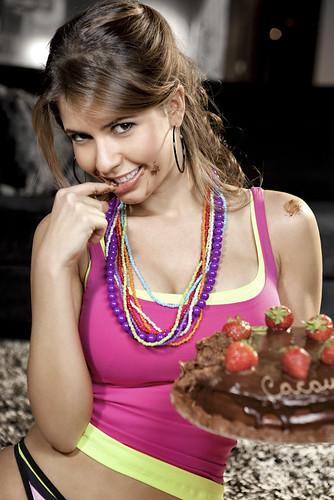 Claudia Colucci (Cacau BBB10) | Foto: Antonio Vigatto www