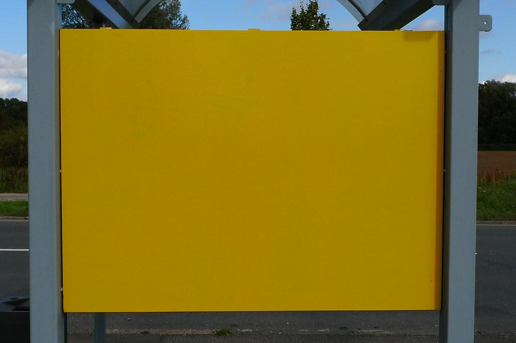 Gelbe tafel 1050662 yellow board near bonames 26 9 for Gelbe tafel