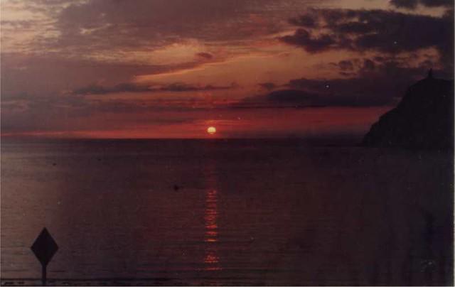Port Erin sunset