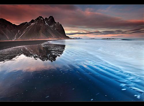 Rippled Reflection - Vestrahorn, Iceland | by orvaratli
