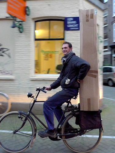 How to carry a tree on a bike | by @WorkCycles