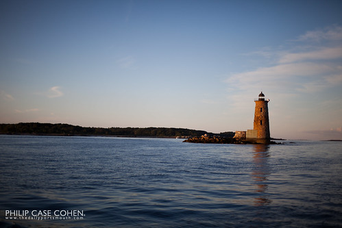 Whaleback Lighthouse by Philip Case Cohen