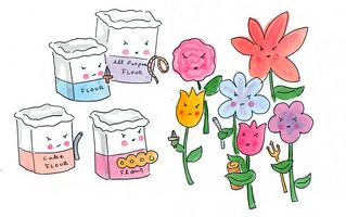Flour Power   by cakespy