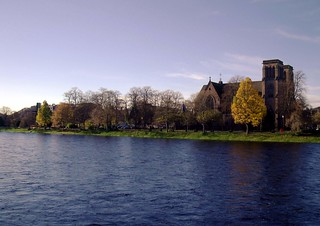 Autumn along the river Ness in Inverness Scotland | by conner395