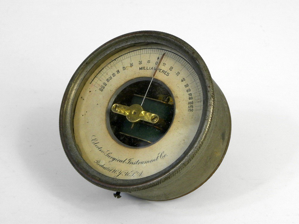 Antique Milliamperes Meter, Electro Surgical Instrument Co…   Flickr