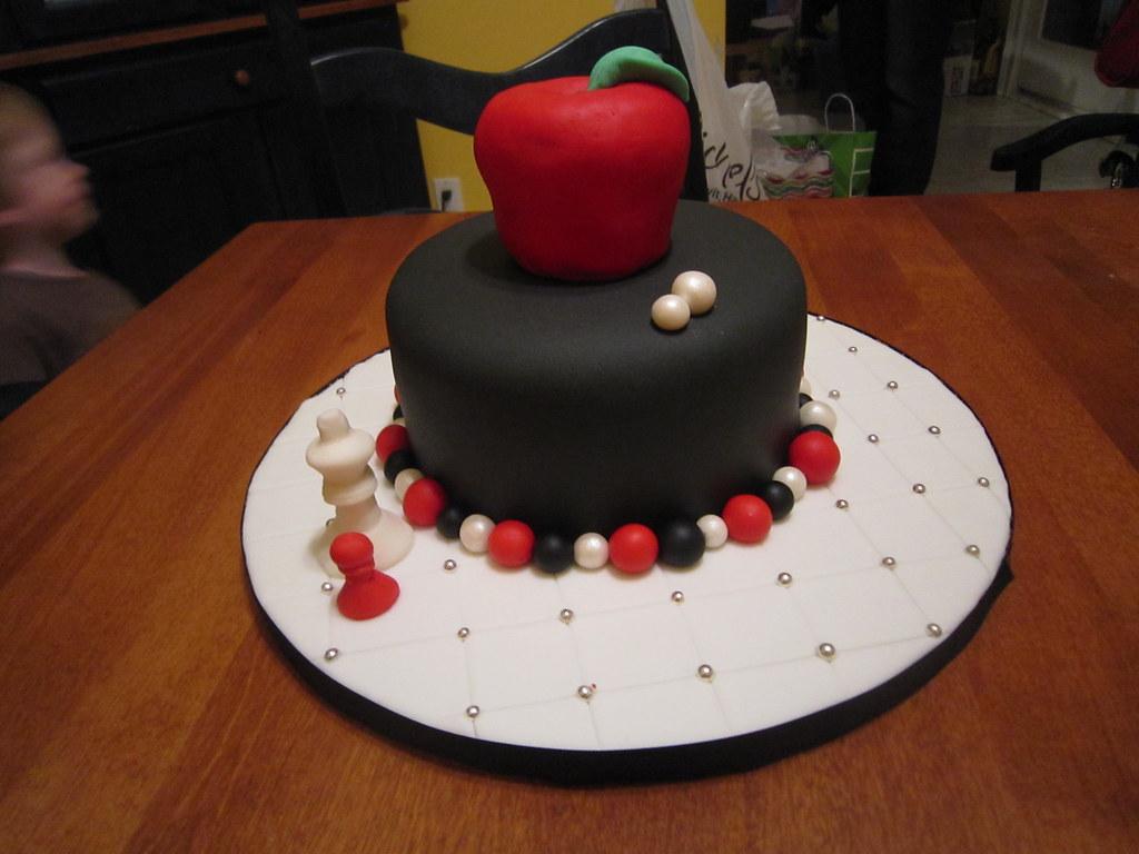 Miraculous Twilight Birthday Cake For My Daughter Birthday Cake Done Flickr Funny Birthday Cards Online Overcheapnameinfo