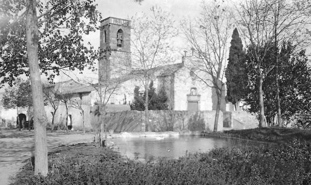 Santiga a inicis del segle XX / Catalan hamlet of Santiga a century ago