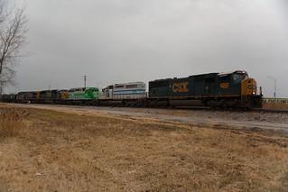 CSX 4502, CITX 3078 And 3053, CSX 4503 And CSX    - Cleari