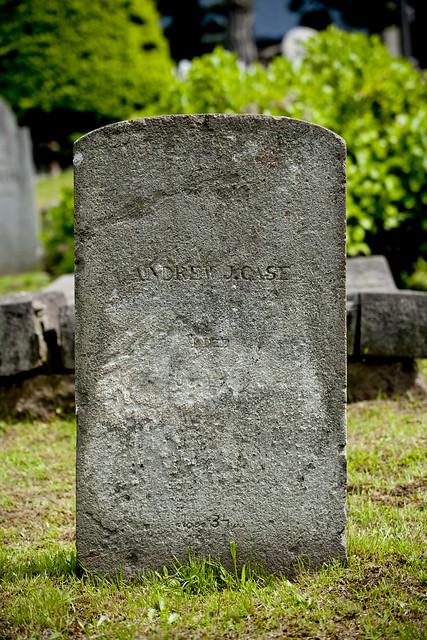 函館外国人墓地 31 Andrew J. Case c1827-1864