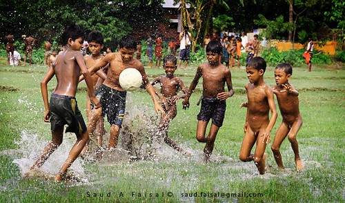 Moonsoon Football [Tanguar Haor, Shunamgong]
