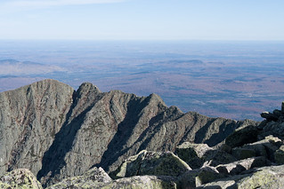 Knife's Edge on Mt. Katahdin, Maine | by Pat Spinney