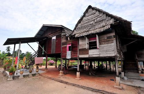 "old wooden village traditional malaysia kampung house"" ""grandma ""malay"