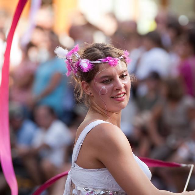 Biennale de la danse - Defile 2010 - La vie en rose
