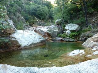 Entre la confluence Ricu et la confluence Valdu Grande : vasque circulaire