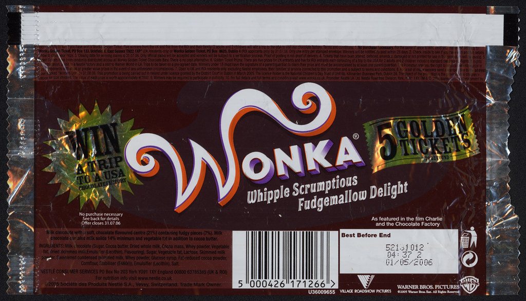 Uk Nestle Wonka Whipple Scrumptious Fudgemallow Deligh