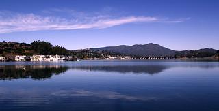 Mt. Tamalpais Reflection on Richardson Bay   by JAD Snippets