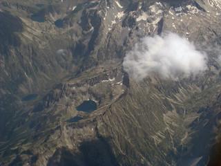 Lagunas de sobreexcavación en circo - Cauterets (Pirineos, Francia) - 01   by Banco de Imágenes Geológicas