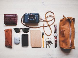 What's in my bag | by Benjamin Bergh