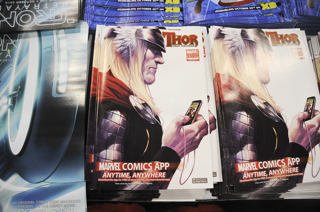 Thor: First Thunder #1 Digital Comics Variant at the Marve