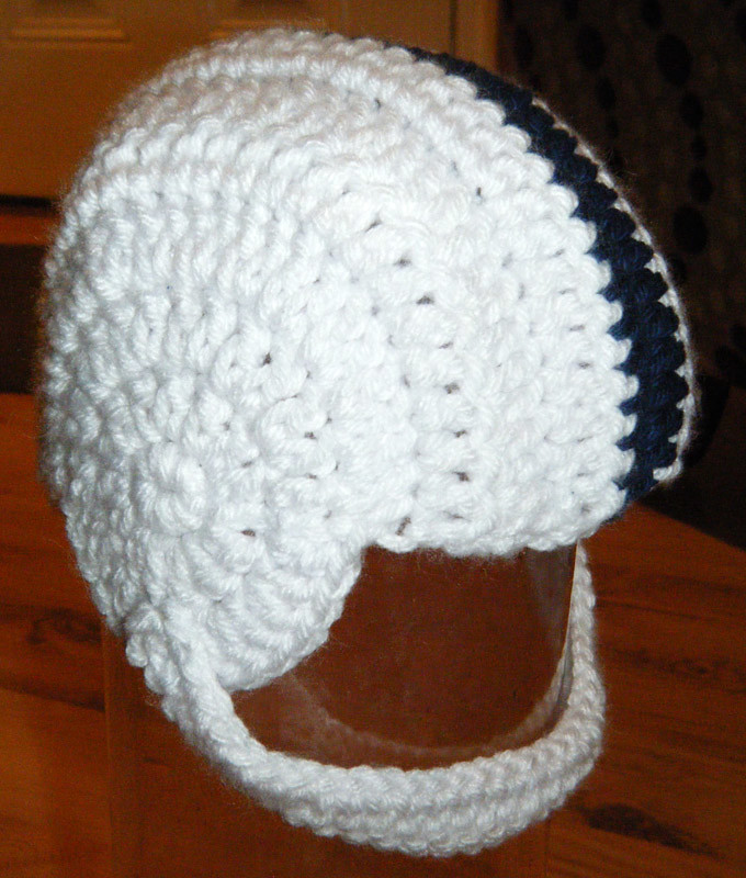Crochet Baby Psu Football Helmet Posted Via Email From Ste Flickr