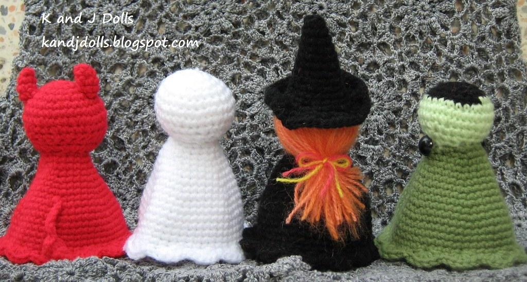 Crochet Pocket Ghost Free Pattern | 549x1024