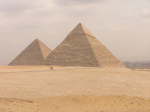 Great Pyramids of Giza | by Darren Krape
