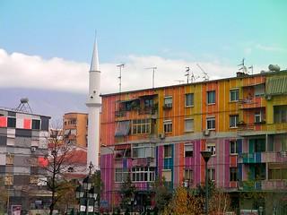 Multi-Coloured Houses, Tiranë
