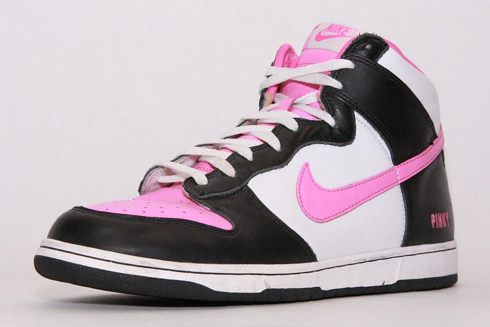buy online f8bd8 13c30 663   Nike dunk high ID Pinky white/black   Remembering DJ ...